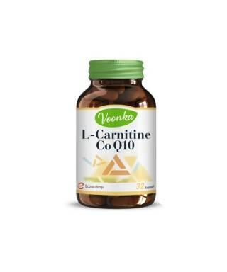 OUTLET - Voonka L-Carnitine CoQ10 Takviye Edici Gıda 32 Kapsül
