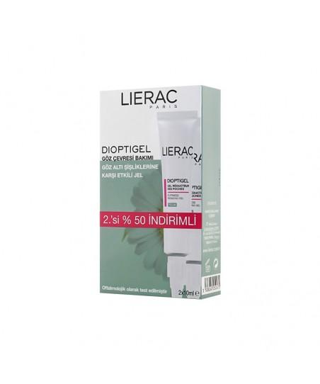 Lierac Dioptigel Eye Contour Gel - Gözaltı Şişliklerine Karşı Etkili Jel