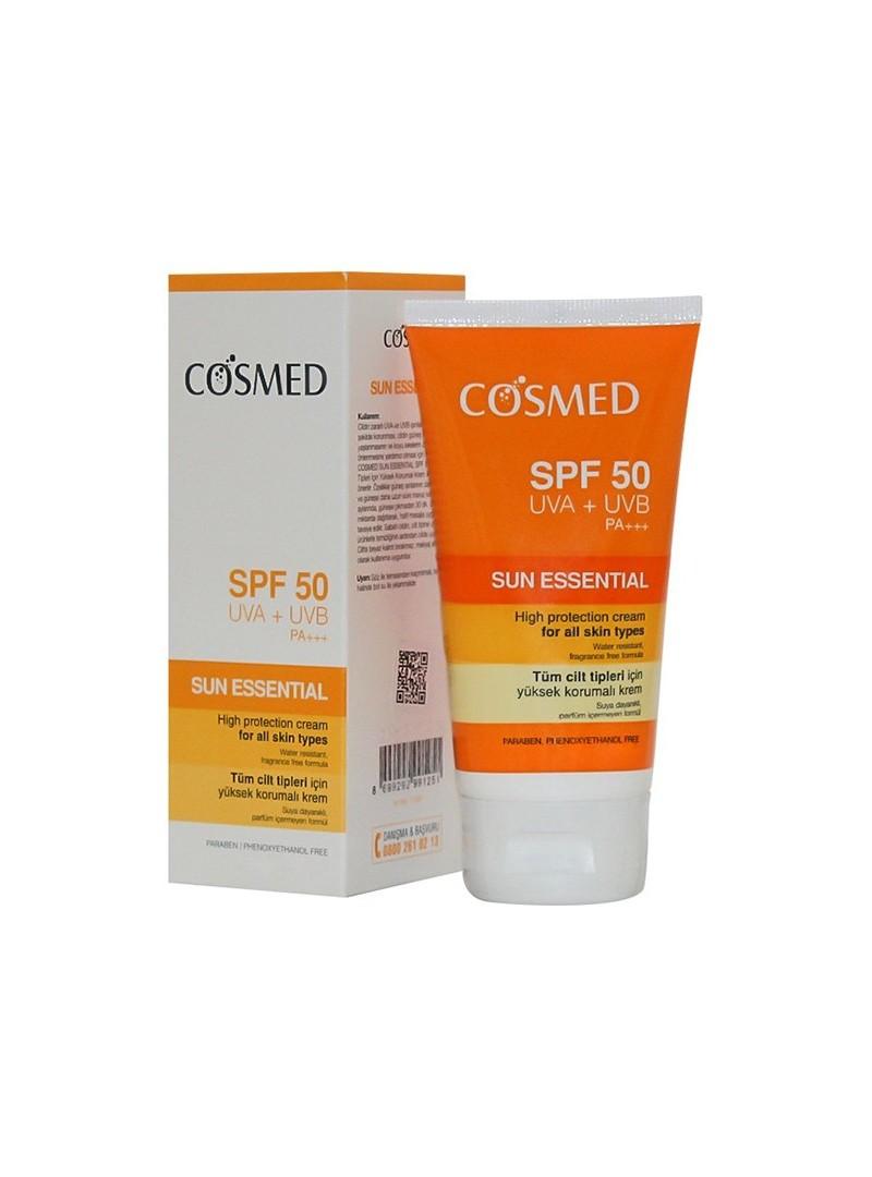 Cosmed Sun Essential Güneş Koruyucu Yüz Kremi SPF50