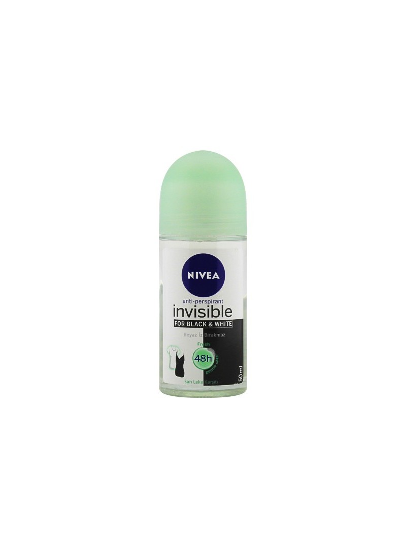 Nivea Invisible For Black & White Deo Roll On 50 ml