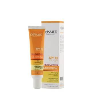Cosmed Sun Essential Revolution SPF50 40ml - Yaşlanma Karşıtı Güneş Kremi