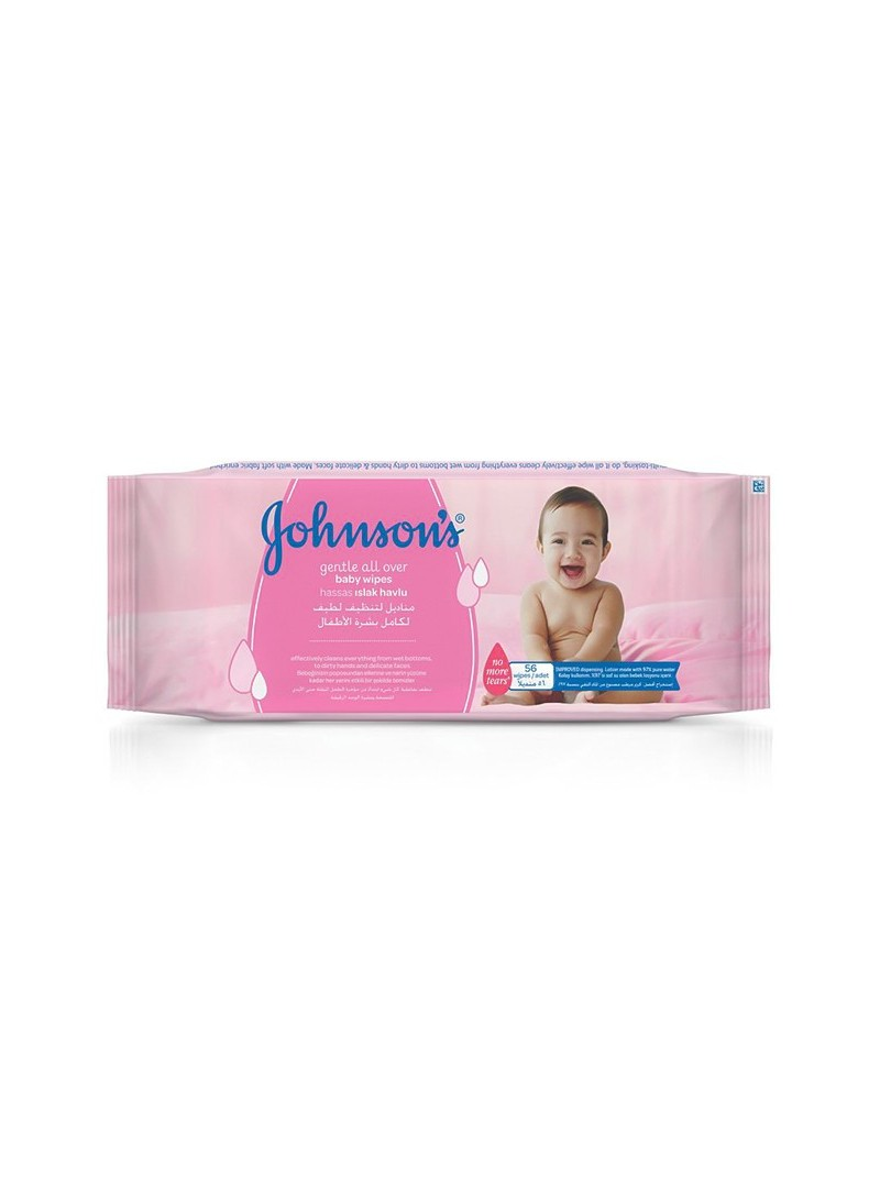 Johnson's Baby Bebek Losyonlu ıslak Mendil 56 Lı