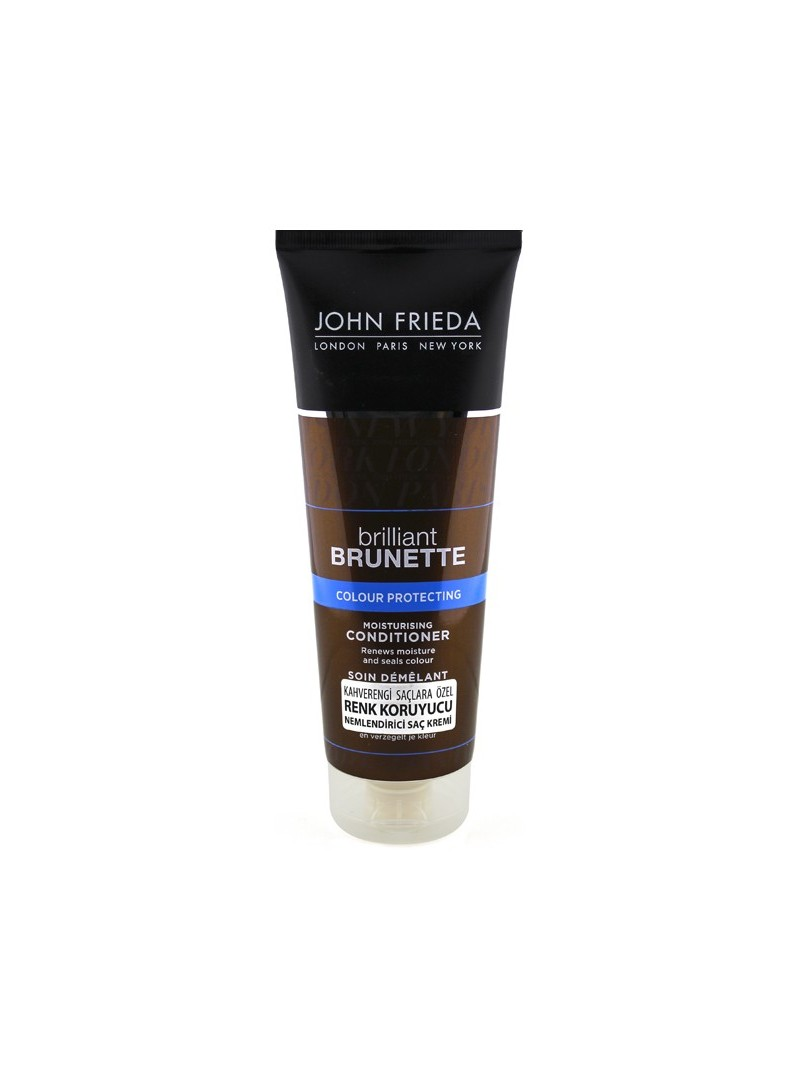 John FriedaJohn Frieda Brilliant Brunette Color Protecting 250ml Brilliant Brunette Nemlendirici Bakım Kremi 250ml - Nemlendiric