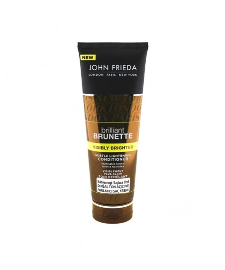 John Frieda BrilliantBrunette Visibly Brighter Conditioner 250ml