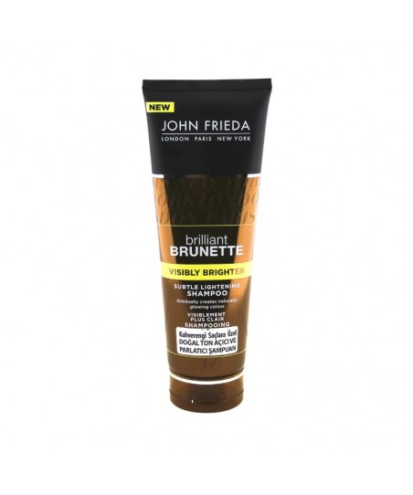 John Frieda Brilliant Brunette Visibly Brighter Shampoo 250ml