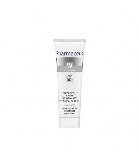 Pharmaceris W - Albucin Triple Action Whitening Day Cream Spf50 - 30ml