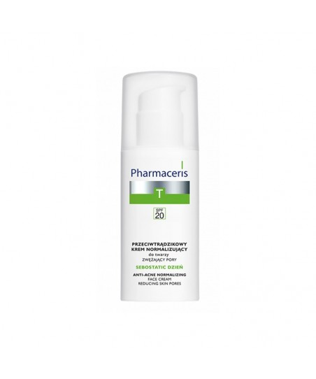 Pharmaceris T - Sebostatic Normalizing Matifying Anti-Akne Cream Spf20 - 50ml