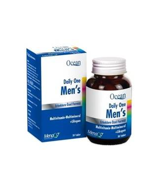 Ocean Daily One Men's Multi Vitamin Mineral 30 Tablet