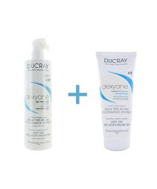 Ducray Dexyane Gel Nettoyant 400ml +Ducray Dexyane Creme Emolliente Anti-Grattage 200ml
