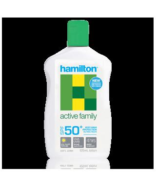 OUTLET - Hamilton Active Family Losyon SPF50+ 125ml