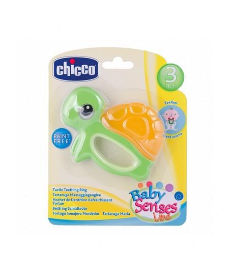 Chicco Diş Eti Masajı Yapan Kaplumbağa Çıngırak 3 ay+