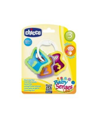 Chicco Kolay Kavranan Çıngırak Anahtarlar 3m+