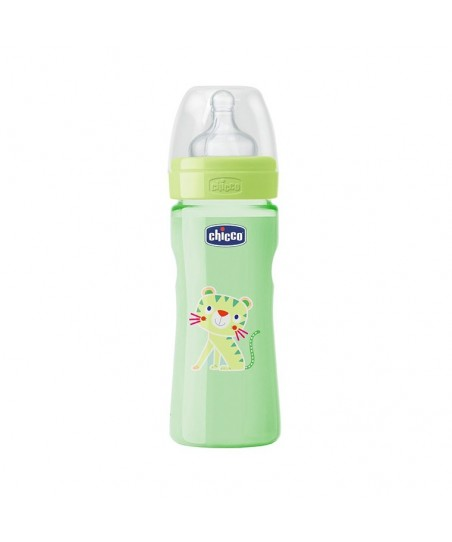 Chicco Wellbeing Yeşil Biberon (250 ml)