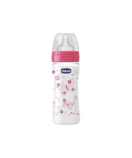 Chicco Wellbeing PP Biberon - Silikon 250 ml