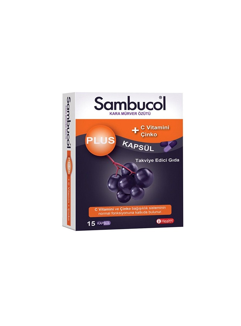 Sambucol Plus 15 Kapsül