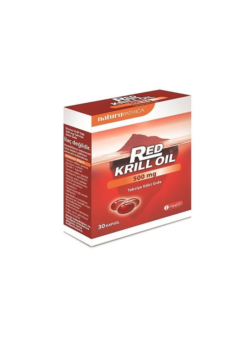 Red Krill Oil 500mg 30 Kapsül