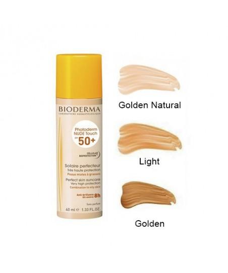 Bioderma Photoderm Nude Touch Spf50+ Renkli Güneş Koruyucu 40ml