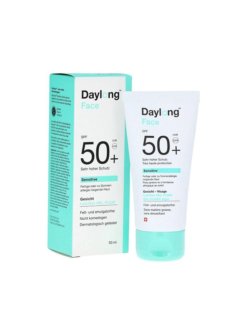 Daylong Face Spf50+ Sensitive Gel Fluid 50ml