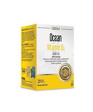 Ocean Vitamin D3 600 IU Sprey 20ml