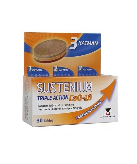 Sustenium Triple Action CoQ-10 30 Tablet