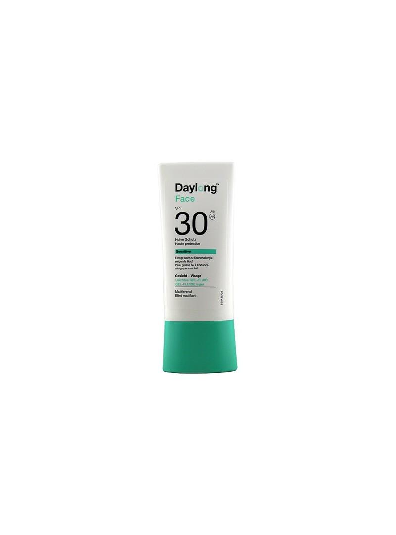 Daylong Sensitive SPF 30 Gel Fluid Face 30 ml Yüz İçin Güneş Koruyucu