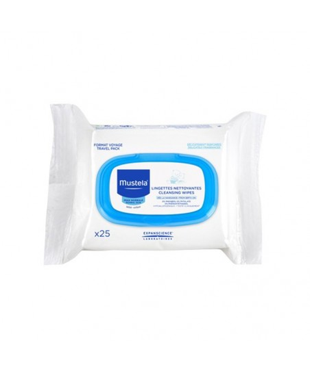 Mustela Cleansing Wipes For Face 25 Adet Yüz Temizleme Mendili