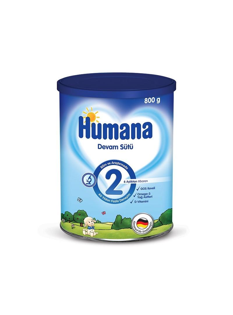 Humana Devam Sütü 2 800 gr
