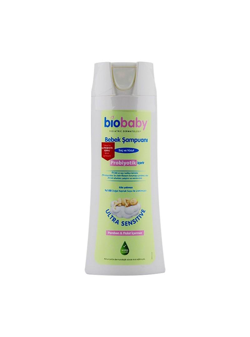 Biobaby Saç ve Vücut Şampuanı 300 ml