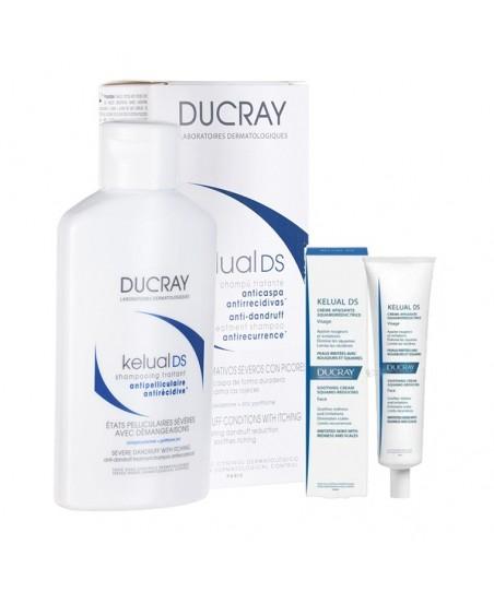 Ducray Kelual Ds İnatçı Kepeğe Karşı Şampuan 100 ml   Kelual DS Krem 40ml HEDİYE