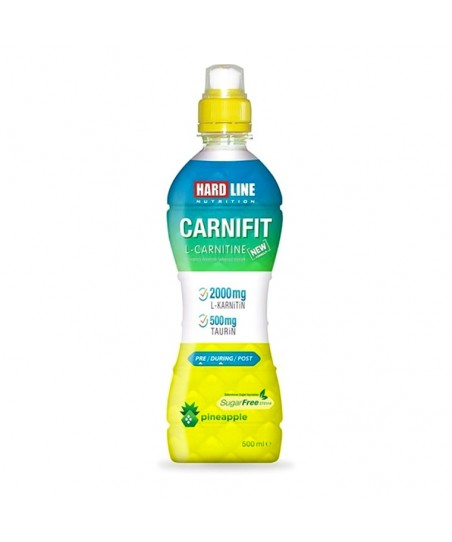 Hardline Nutrition Carnifit Ananas Aromalı 500 ml - 24 Adet