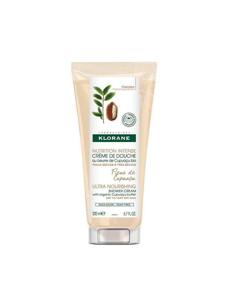Klorane Nutrition İntense Creme Douche Cupuaçu Çiçeği ve Organik Cupuaçu Yağı İçeren Duş Kremi 200ml
