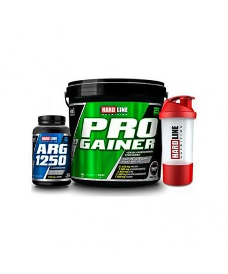 Hardline Pro gainer 5000 + Arg 1250