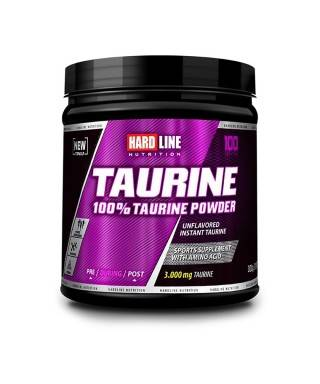 Hardline Nutrition Taurine Powder 300 Gr
