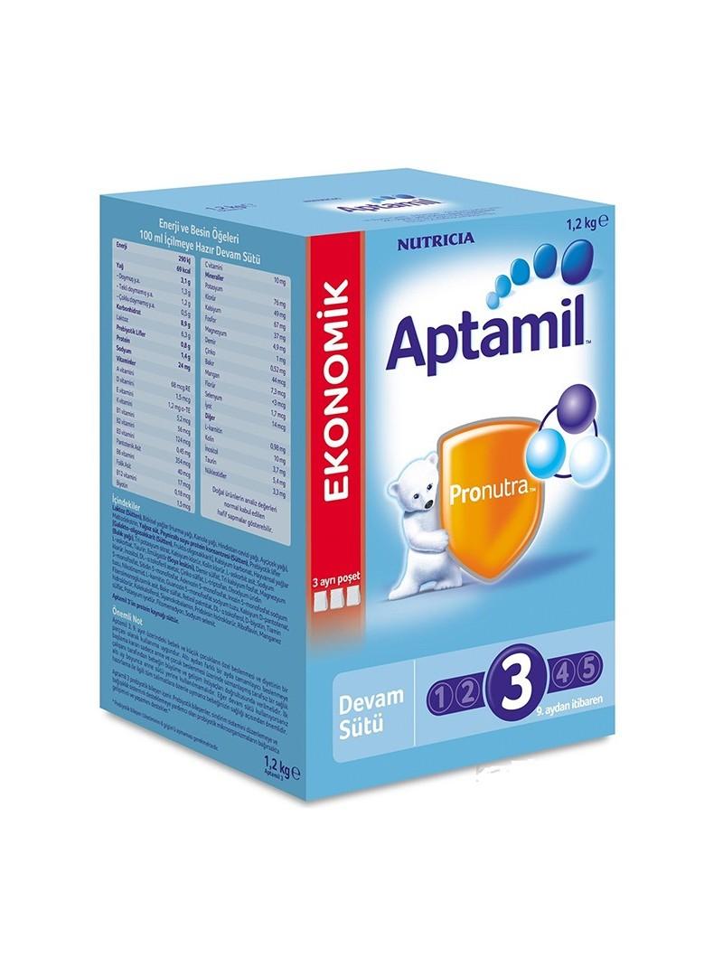 Milupa Aptamil 3 Devam Sütü 1200 gr