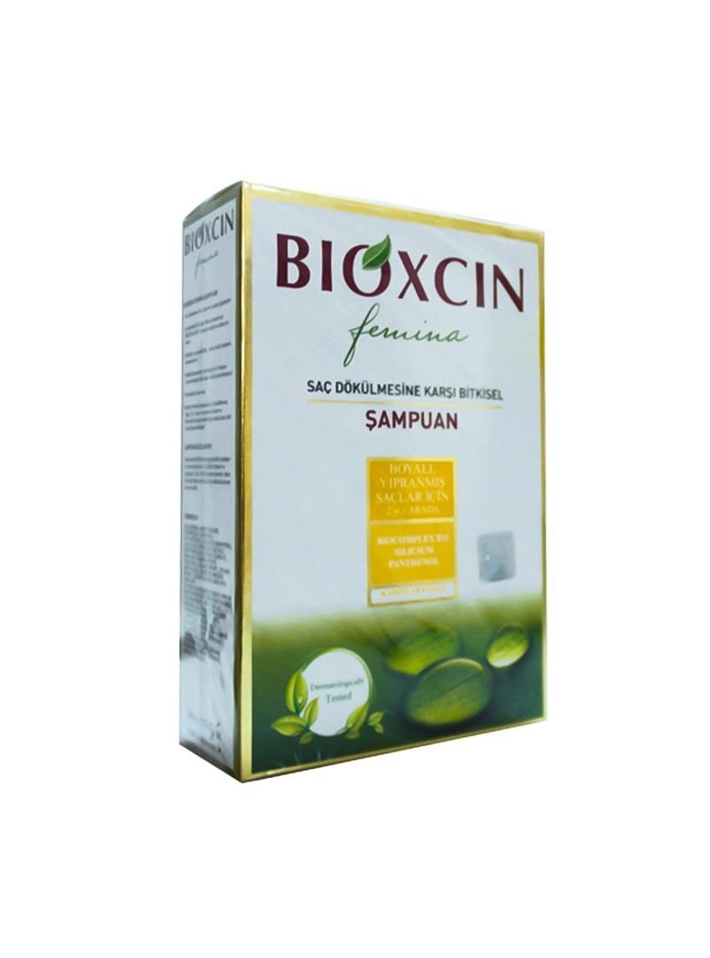 Bioxcin Femina Şampuan 2 in1 Yıpranmış Saçlar 300 ml