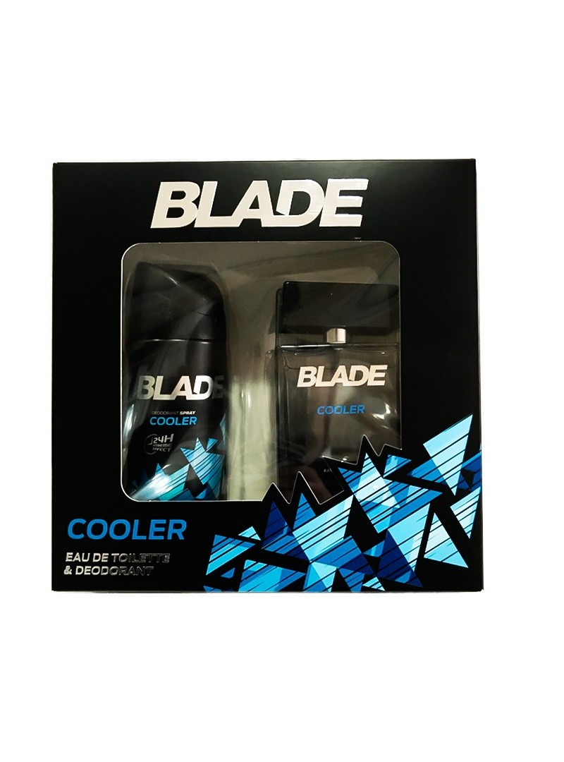 Blade Cooler Edt 100 ML + Deodorant 150 Ml