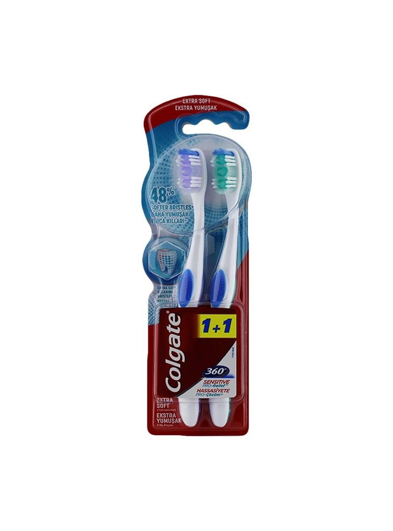 Colgate Ultra Yumuşak Hassas Dişlere Profesyonel Çözüm Diş Fırçası 2li Fırsat Paketi