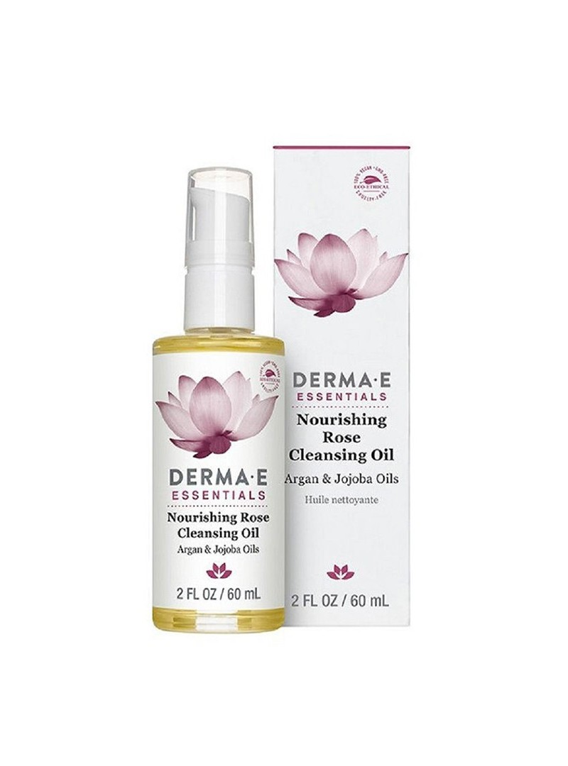 Derma E Nourishing Rose Cleansing Oil 60ml