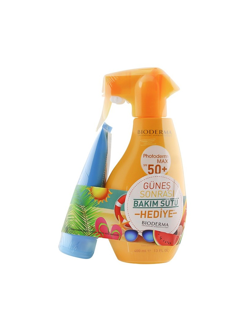 Bioderma Photoderm Max SPF 50+ Spray 400 ml + After Sun 100 ml HEDİYE