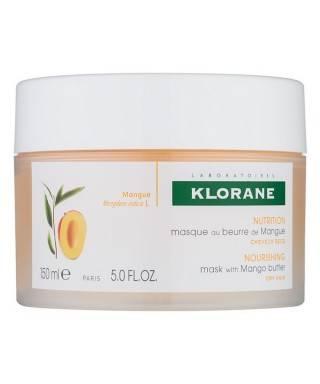 Klorane Mango Yağı İçeren Yıpranmış Saçlar İçin Onarıcı Bakım Maskesi