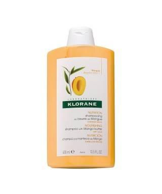 Klorane Mangue Shampoo 400 ml Mango Yağı İçeren Kuru, Boyalı ve Yıpranmış Saçlar İçin Bakım Şampuanı