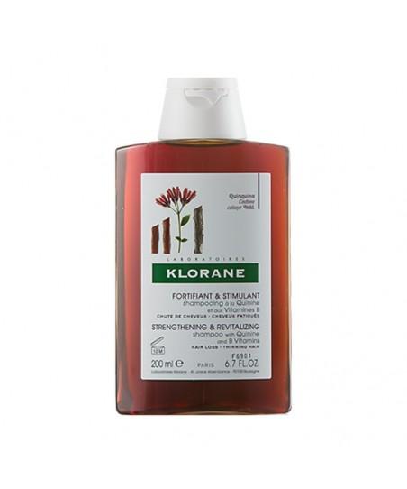 Klorane Quinine Shampoo 200 ml Kinin İçeren Saç Dökülmesine Karşı Şampuanı