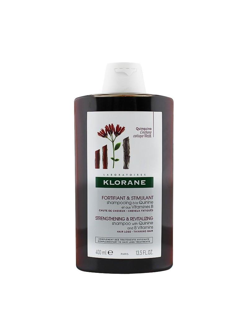 Klorane Quinine Shampoo 400 ml Kinin İçeren Saç Dökülmesine Karşı Canlandırıcı Bakım Şampuanı