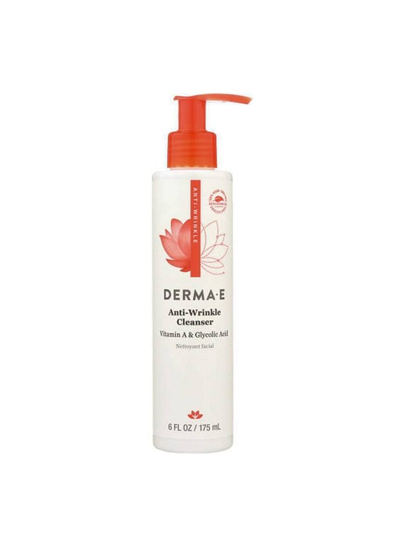 Derma E Anti Wrinkle Vitamin A Glycolic Cleanser 175 ml - Cilt Temizleyici