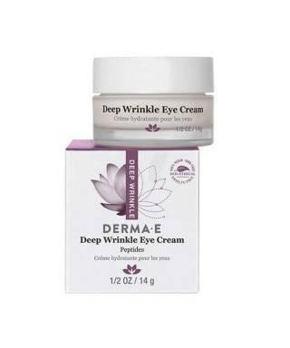 Derma E Deep Wrinkle Peptide Eye Creme 14 g - Göz Çevresi Bakım Kremi