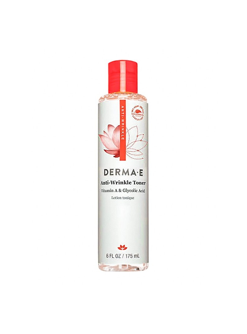 Derma E Anti Wrinkle Vitamin A Glycolic Toner 175 ml - Kırışıklık Karşıtı Tonik
