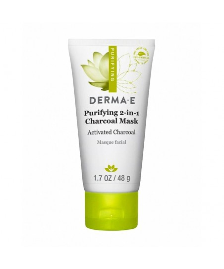 Derma E Purifying 2 in 1 Charcoal Mask 48g