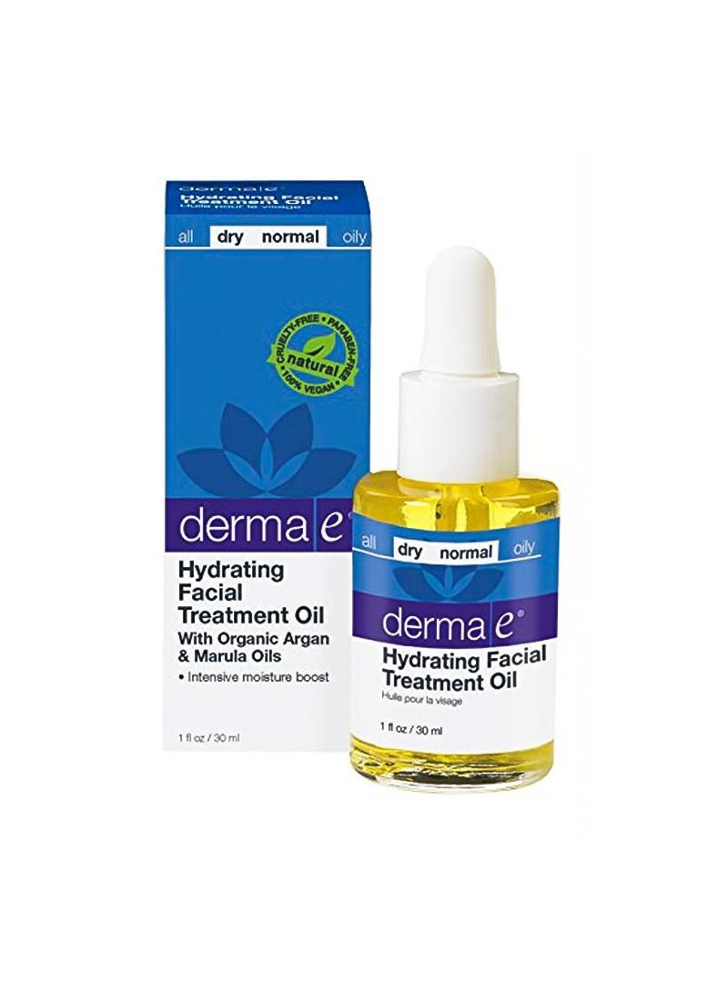 Derma E Hydrating Facial Treatment Oil 30ml - Ultra Nemlendirici Bakım Yağı