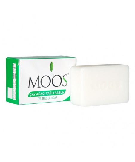 Moos Çay Ağacı Özlü Sabun 100gr