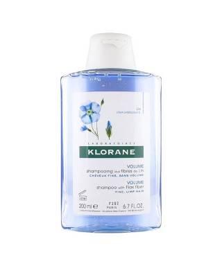 Klorane Keten Lifi İçeren İnce Telli Saçlar İçin Hacim Veren Bakım Şampuanı 200 ml